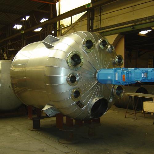 reactor met foamglasisolatie