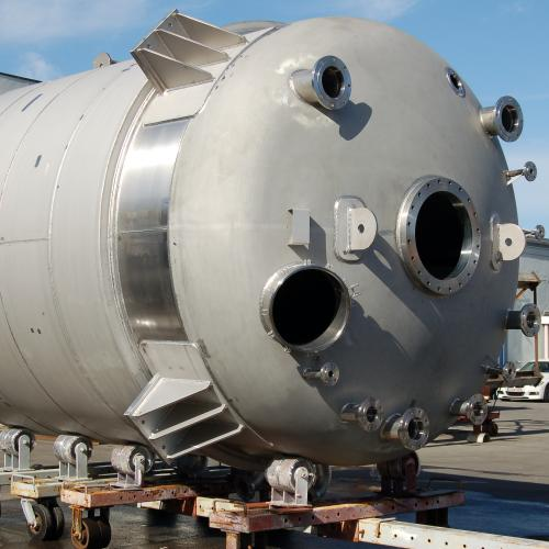 jacketed reactor 35 m³ in Alloy 31