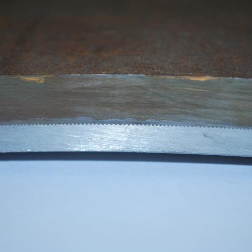 detail tôle clad  P265GH + RVS 316L