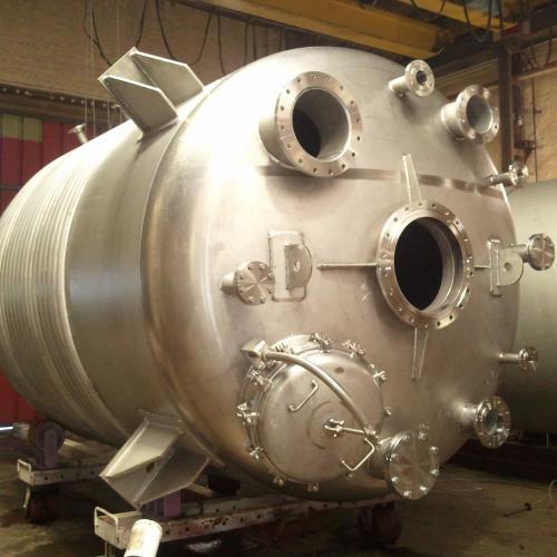 réacteur 17 m³ en duplex 1.4462