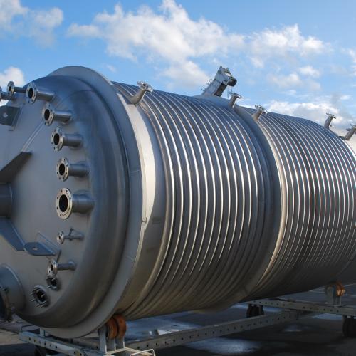 Reactor 30 m³ op skirt