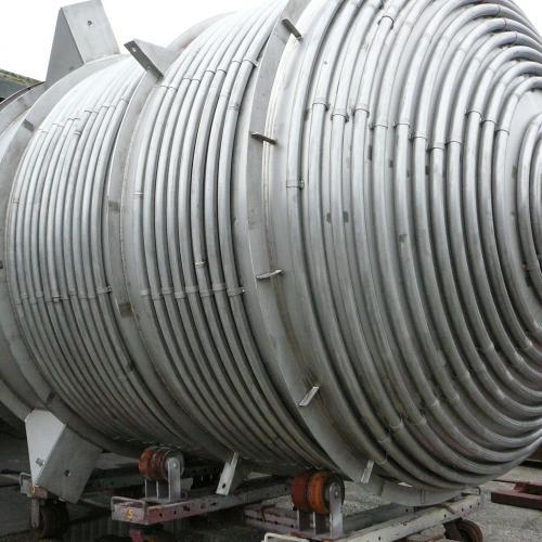 reactor in 316L met tracer verwarming