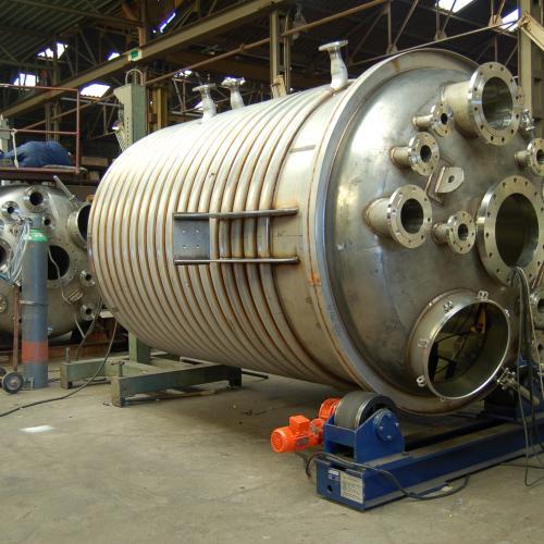Reactor in constructie