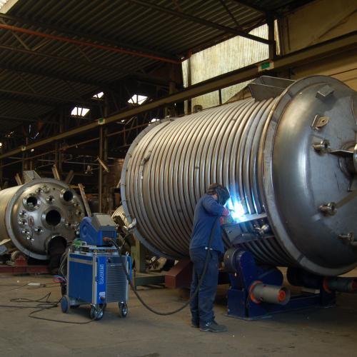 reactoren in constructie